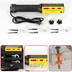 1000W 110V Mini Ductor Magnetic Induction Heater Kit Flameless Heat Tools Set US