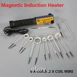 1000W Mini Ductor Magnetic Induction Heater Automotive Flameless Heat Kit Tool
