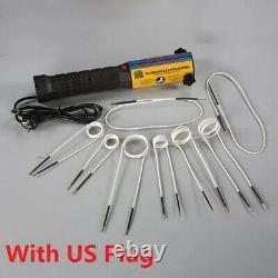 1000W Mini Ductor Magnetic Induction Heater Bolt Remover Repair Machine Tool Kit