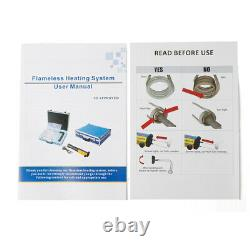 110V Mini Ductor Magnetic Induction Heater Kit Fit Automotive Flameless USED