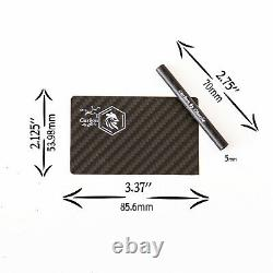 2021 Collection Carbon Fiber Plates Heater Card And Straw Party Tools USA UNISEX