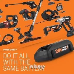 20-Volt Rotary Tool Kit Mini Heat Gun 42 Accessories (Battery Charger Included)