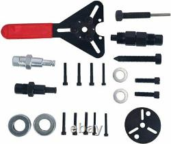 21Pcs A/C Compressor Clutch Hub Remover Kit Air Conditioning Puller Install Tool