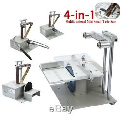 4-in-1 Multifunctional Mini Small Table Saw Belt Sander Kit Electric Saw S9O5
