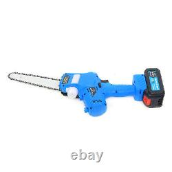 7'' Rechargeable Mini Handheld Electric Chainsaw Cordless Small Wood Cutter Tool