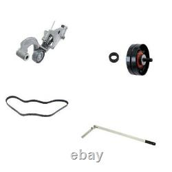 Belt Tensioner Pulley Kit with Tensioner Tool Fits Mini R52 R53 Cooper S Drive
