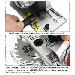 Circular Saw Electric Mini Laser Cutting Tool Kit Blades Compact Hand Grinder