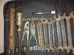 Classic Cars, Jaguar, Land-rover, Mini, Triumph Tool Kit Roll-tw Tools