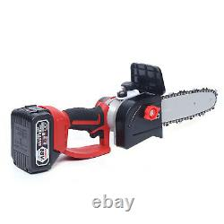 Cordless Electric 10 Mini Chainsaws 21V Lithium Ion Chainsaw Tool Kit 1200w NEW