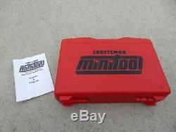 Craftsman Mini Tool Kit With Case And Manual