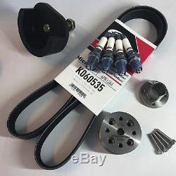 CravenSpeed 15% SC Reduction Pulley Kit with Brisk Plugs, Belt & Tool for MINI R53