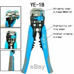 Crimping Pliers Set SN-48B SN-48BS Insulation Terminals Electrical Clamp Tools