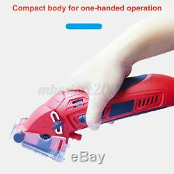 Electric Mini Laser Circular Saw Hand Held Grinder Cutting Tool Kit with3 Blades