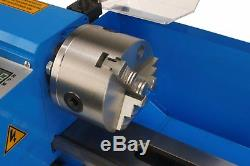 Erie Tools 7x14 Mini Metal Bench Top Variable Speed Lathe and Carbide Cutter Kit