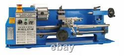 Erie Tools Mini Bench Top Lathe Cutter Kit and Double Bearing Rolling Center