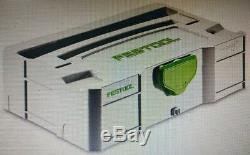 Festool MINI T-LOC TOOLS SYSTAINER 265x170x75mm Centrally Positioned