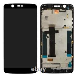 For ZTE Axon 7 Mini With Frame LCD Replacement Display Digitizer Touch BLACK