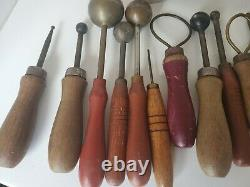 Gorgeous Vintage Millinery Flower Tool Kit with Mini Stove and Foam Pad