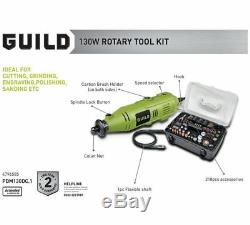 Guild 218 Piece Mini Tool Kit Perfect For Cutting, Sanding, Grinding & Polishing