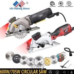 High Power Electric Circular Saw Mini With Disk Set Laser Multi Power Tool 700W