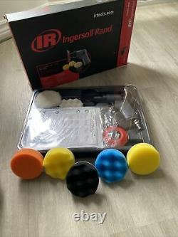 Ingersoll Rand 3129KA 3 Air Mini Buffer/Polisher ToolKit With6 Extra PADS Include