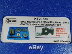 Koch Tools KT20335 BMW Mini Cooper Front Axle Control Arm Rubber Mount Kit NEW