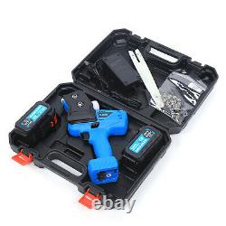 Mini Electric Chainsaw 7 Inch Cordless One-Hand Saw With Rechargeable Battery US