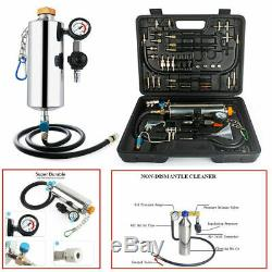 Non-Dismantle Car Auto Fuel Injector Tester Cleaner Washing Tool Kit US Stock