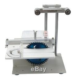 Small Table Saw Belt Sander Kit Electric Saw Multifunctional Mini 4-in-1 Q5Y1