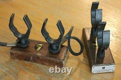 Vintage Fishing Pole mount rare Accessory Rod Antique car Chevy Ford